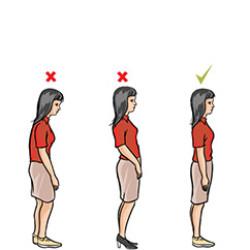 Nyakfájás – helyes testtartás